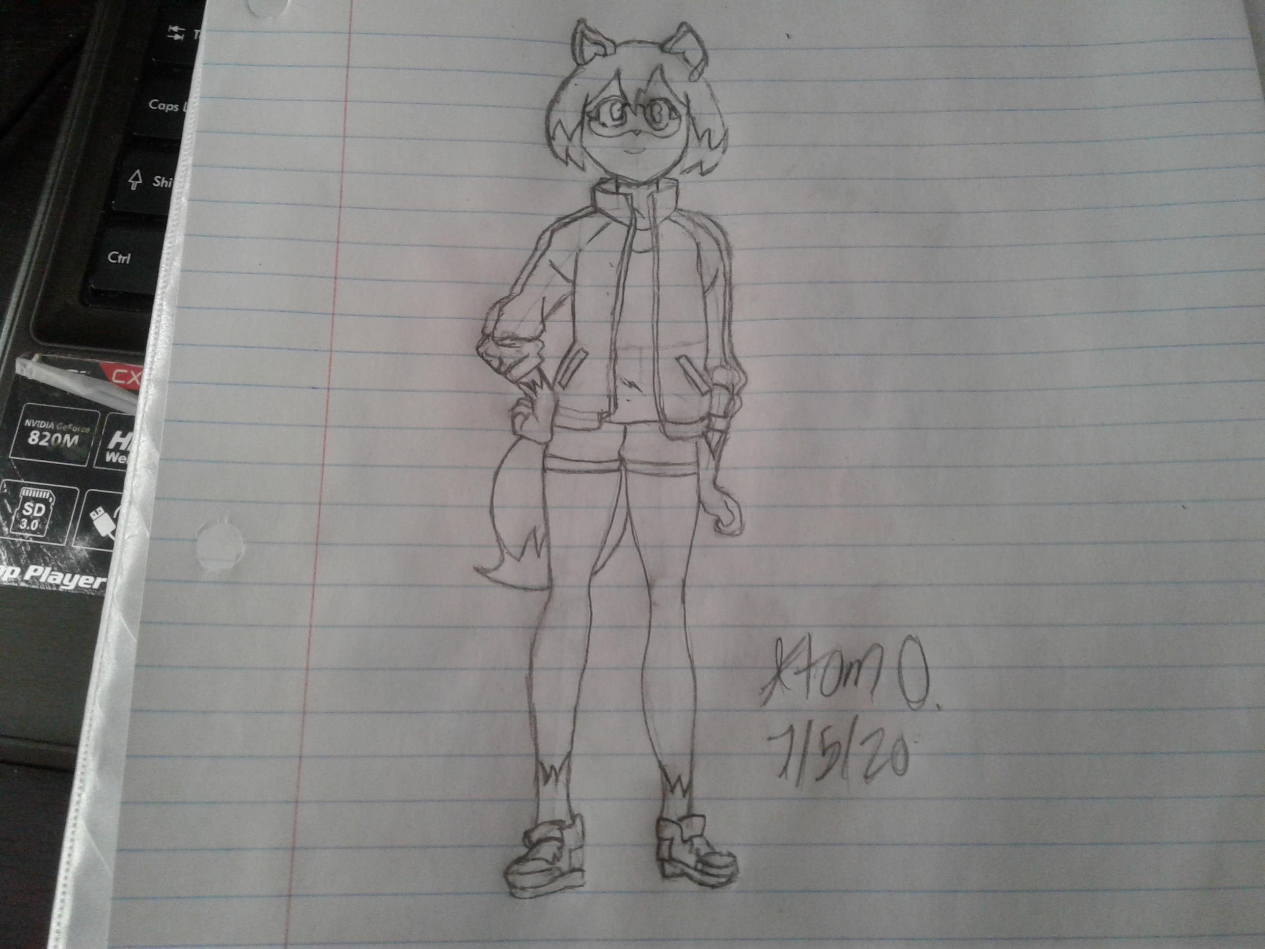 BNA: Kagemori Michiru (Sketch)