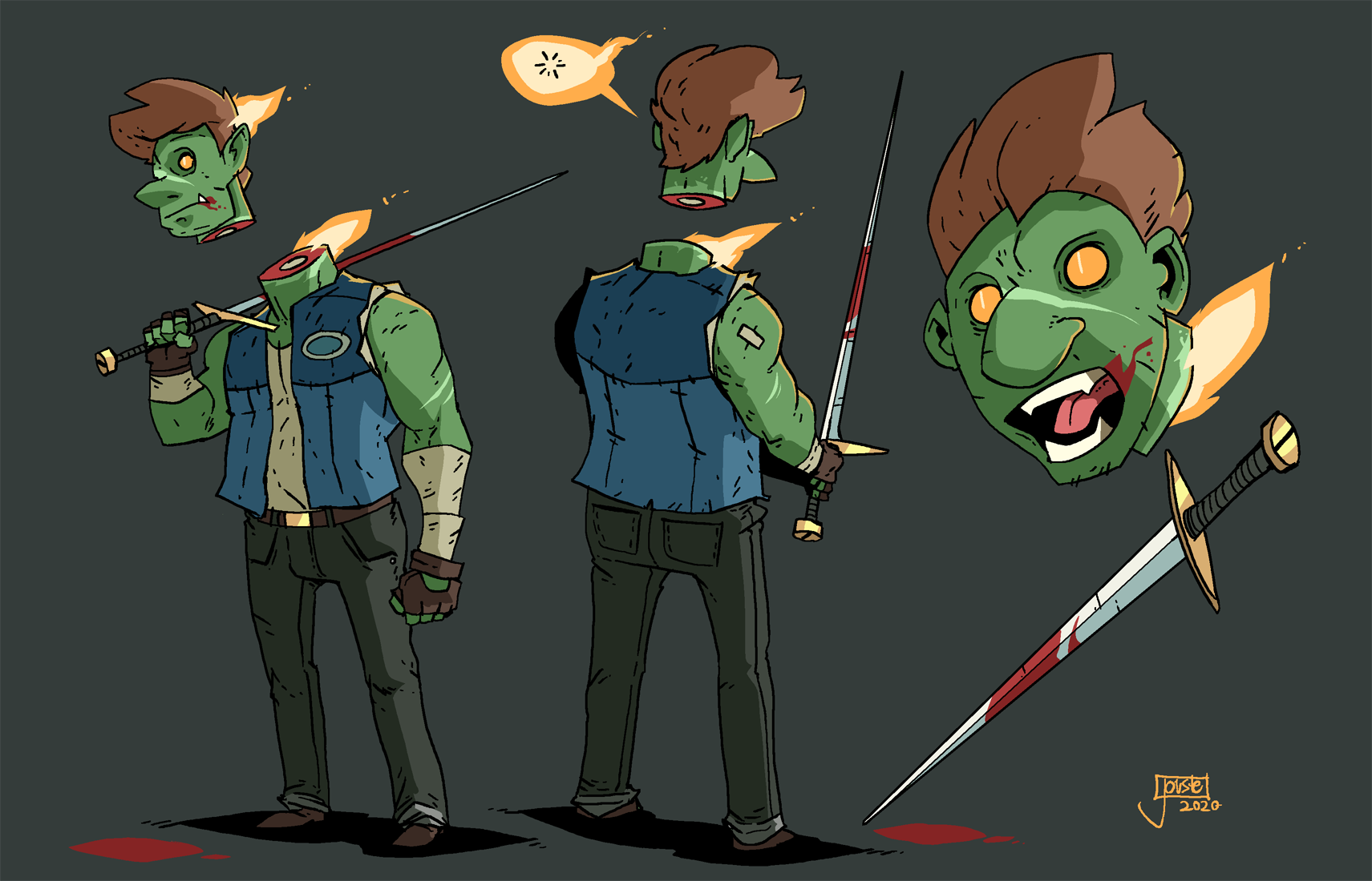 The Headless Swordsman