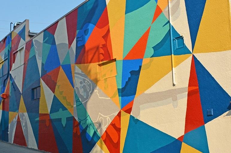 Laneway 45 - Mural