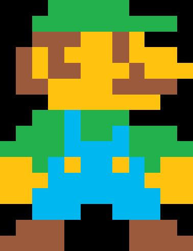 Pixel Luigi