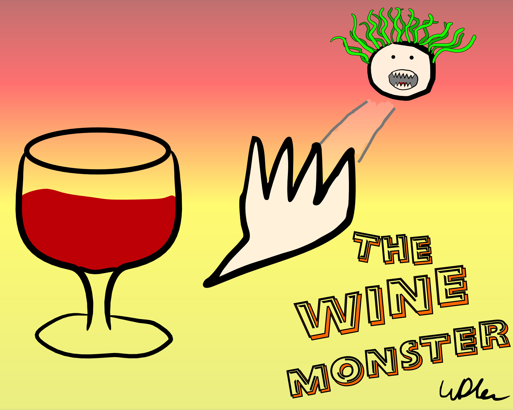 The Wine Monster