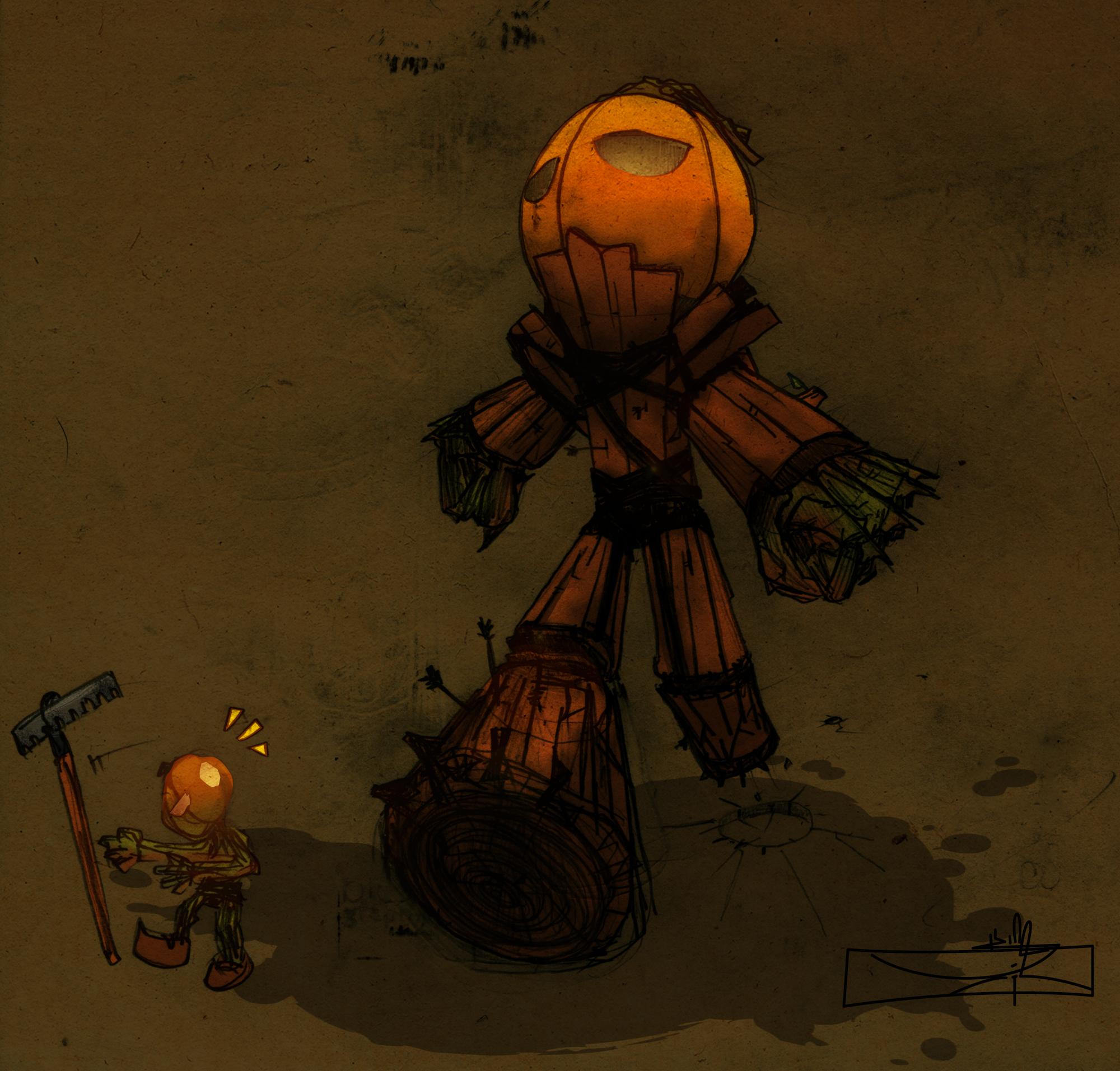 Pumpkin of DOOM colored
