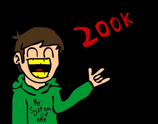 Eddsworld reaches 200K subs!