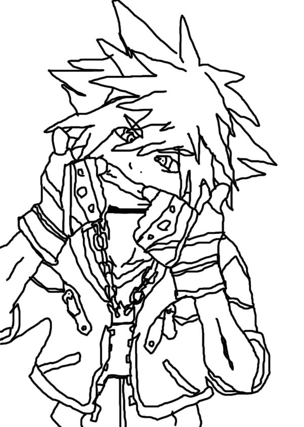 Sora Line Art