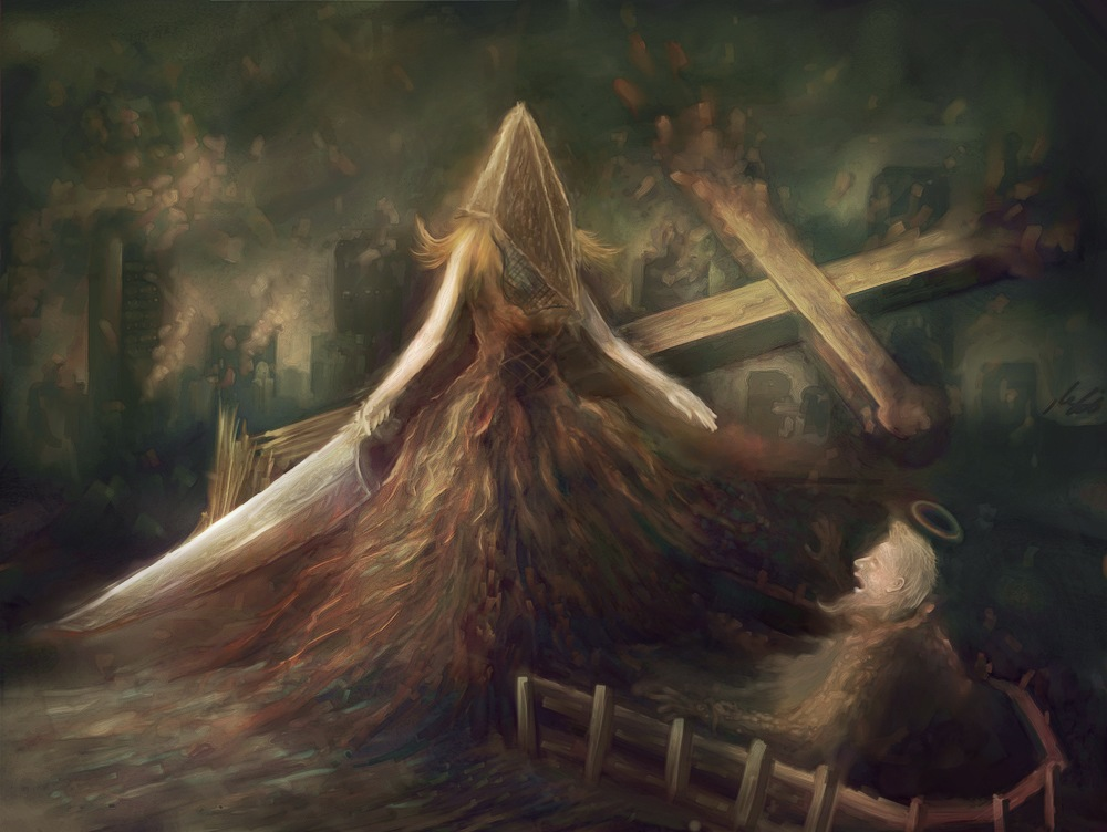 Lady Silent Hill
