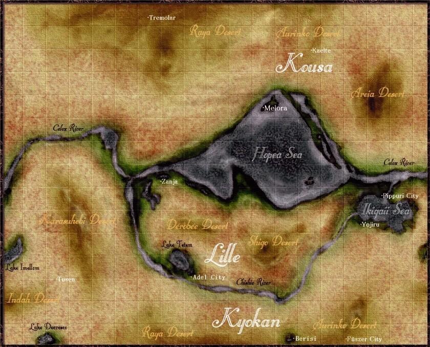 Vex Map
