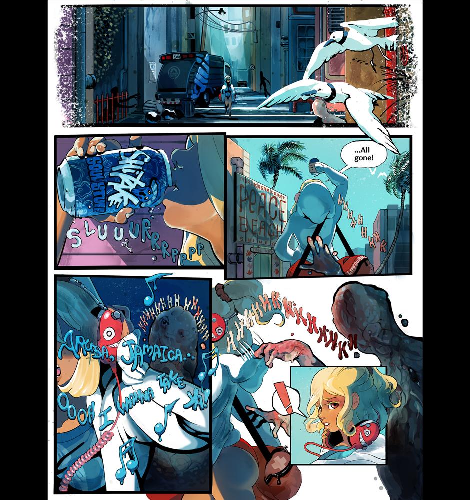 First ten pages of SplatterBrain
