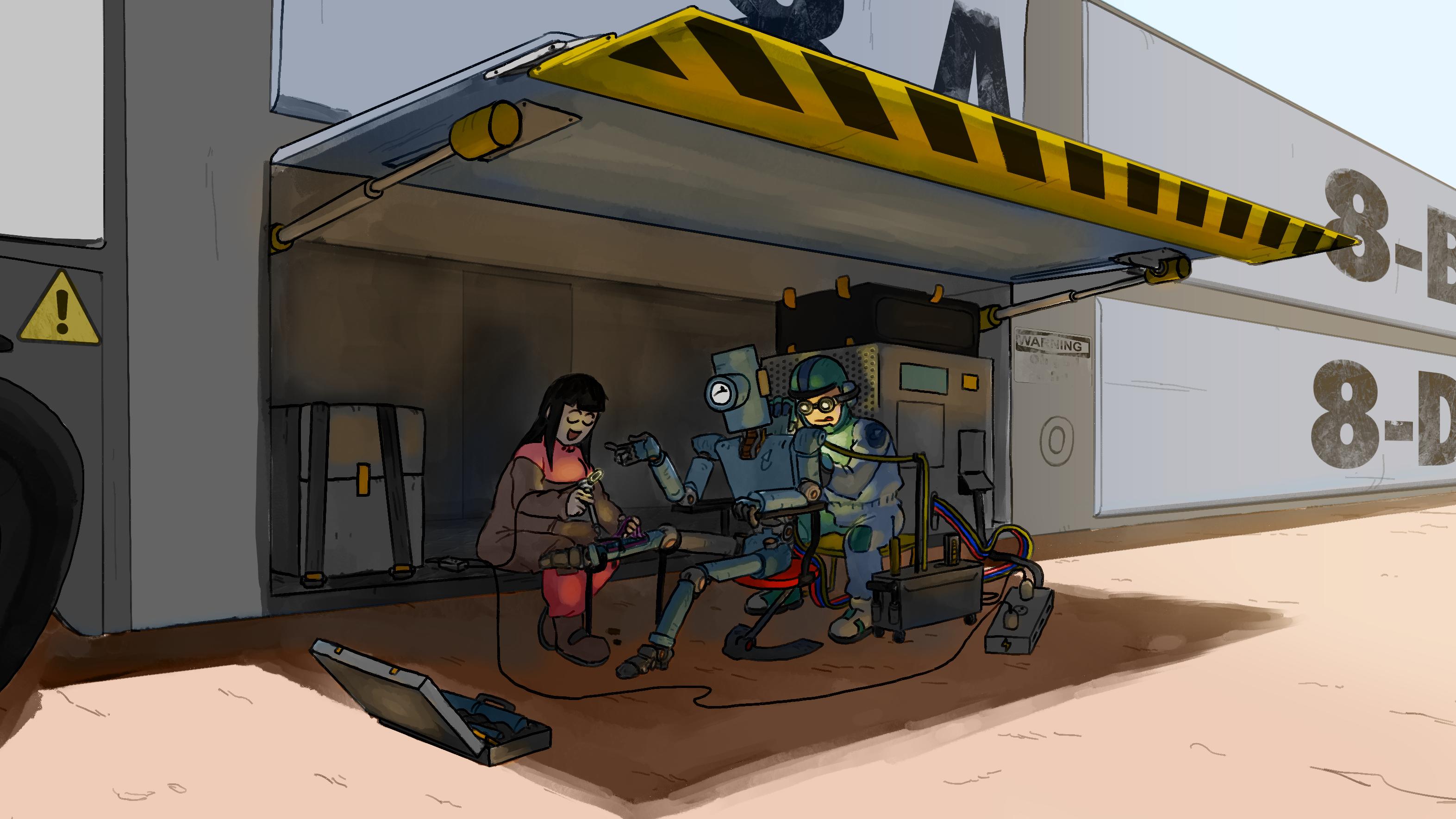 Midday maintenance