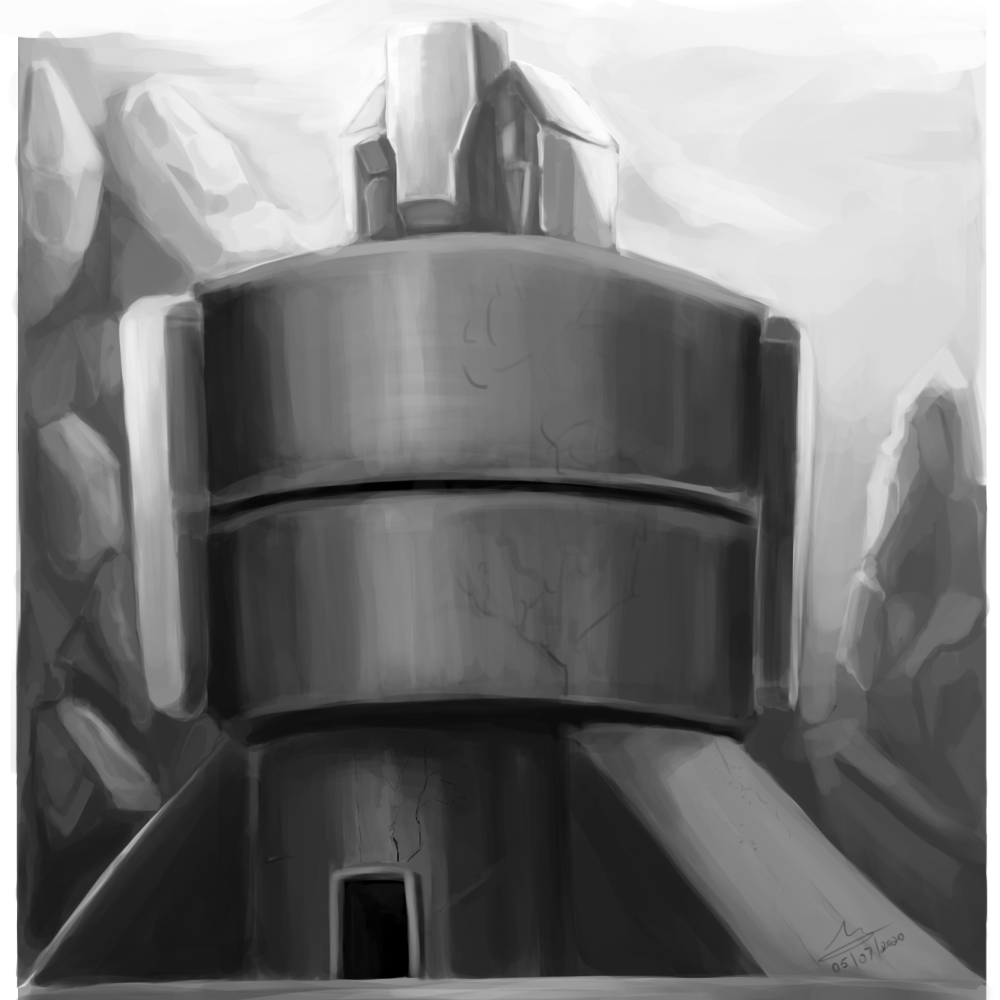 Building Concept Sketch