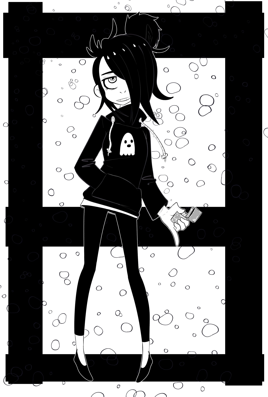 Pyromaniac Goth Girl