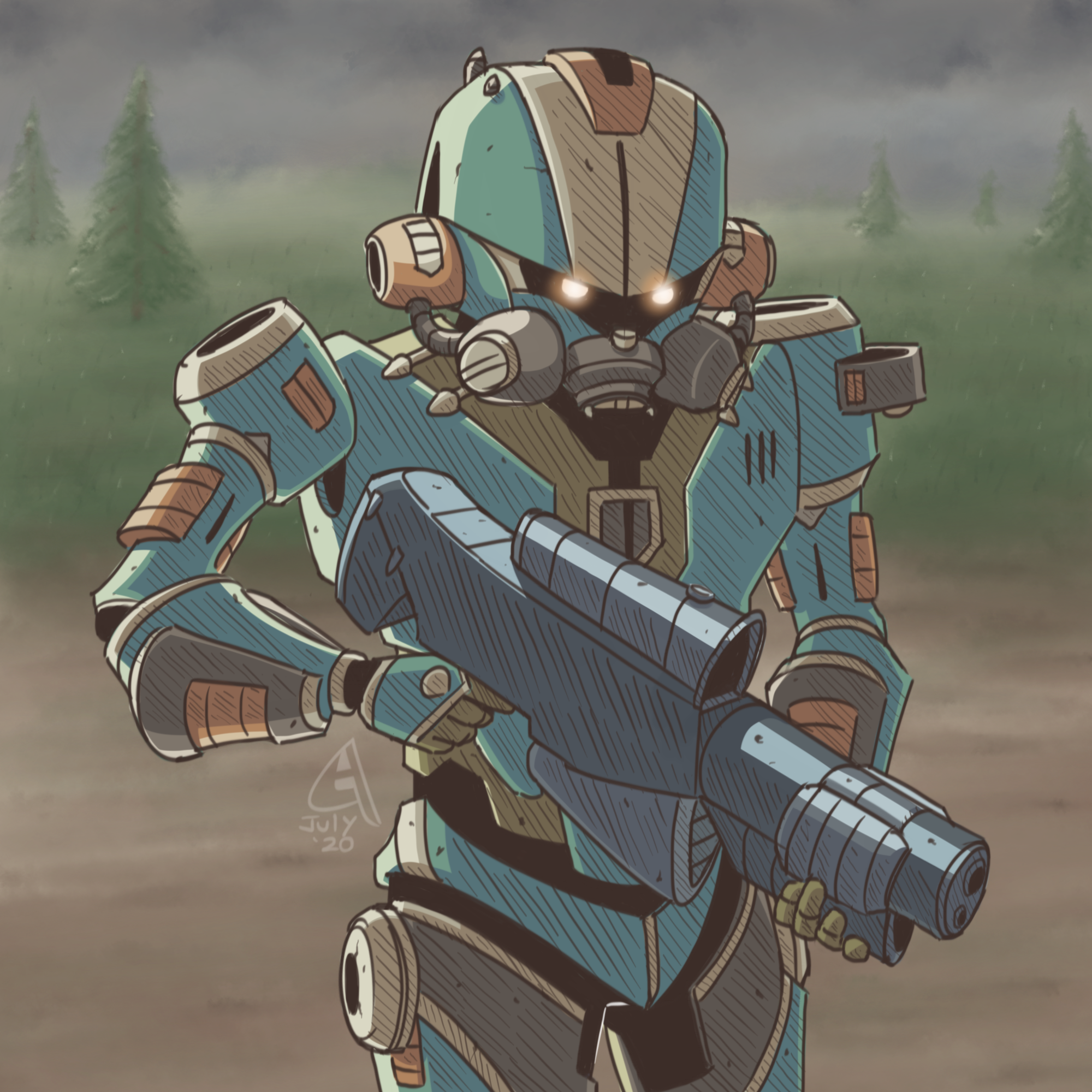 Future Soldier of the Final Unit
