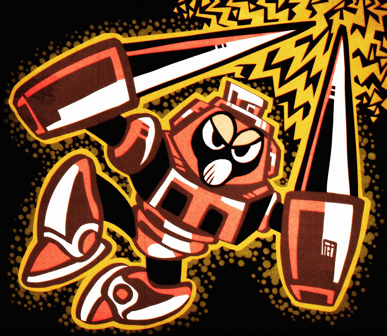 NES Spark Man