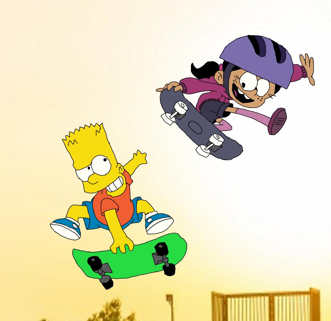 Skating Within the Air