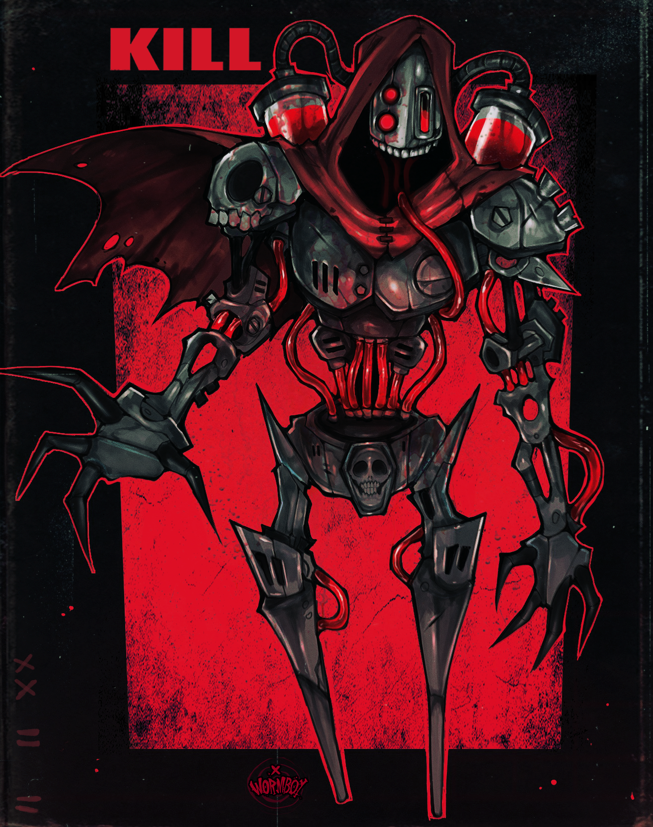 BLOOD-FORGED
