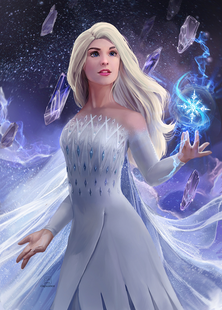 Elsa. Patreon reward