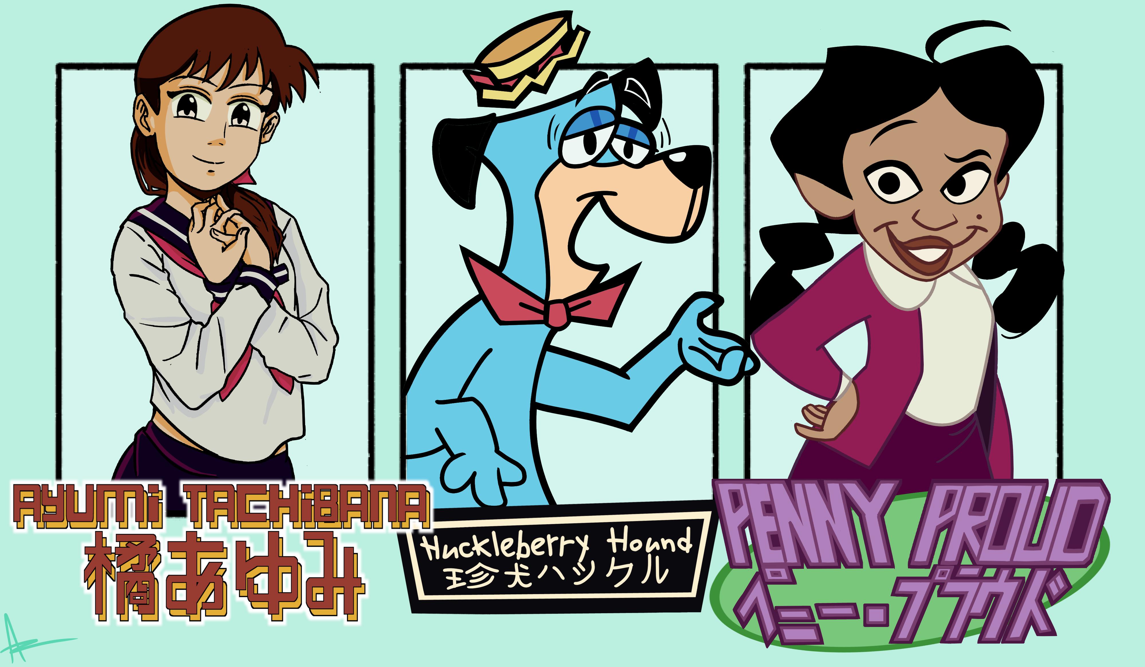 More Character Drawings
