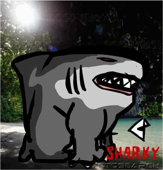 Sharky The Dog