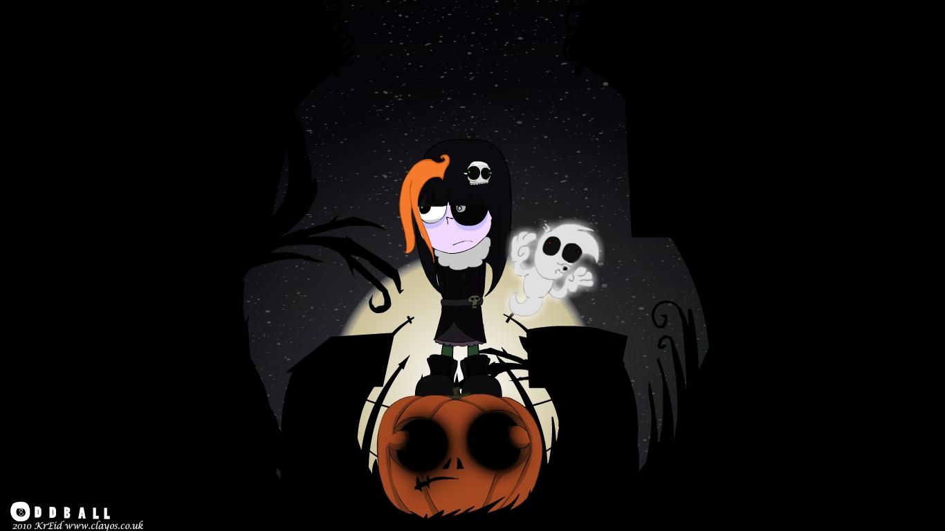 Oddball halloween desktop