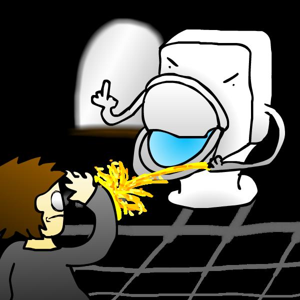 toilet revenge