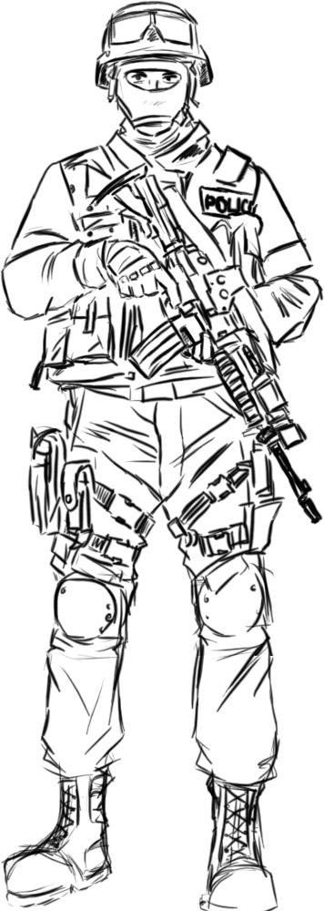 SWAT dude