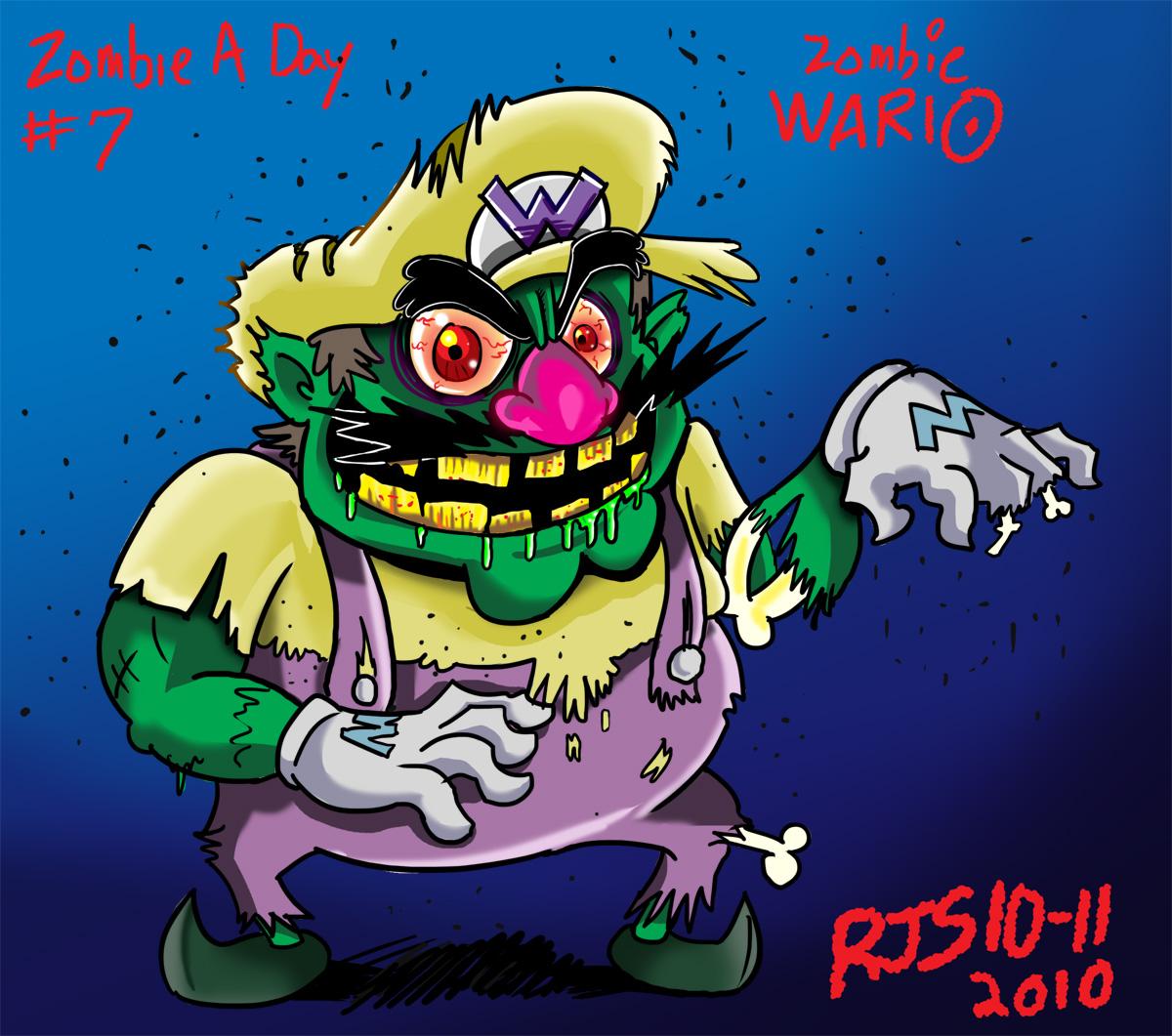 Zombie Wario