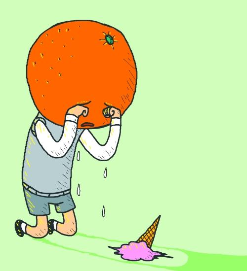 Don't Cry Orange-boy