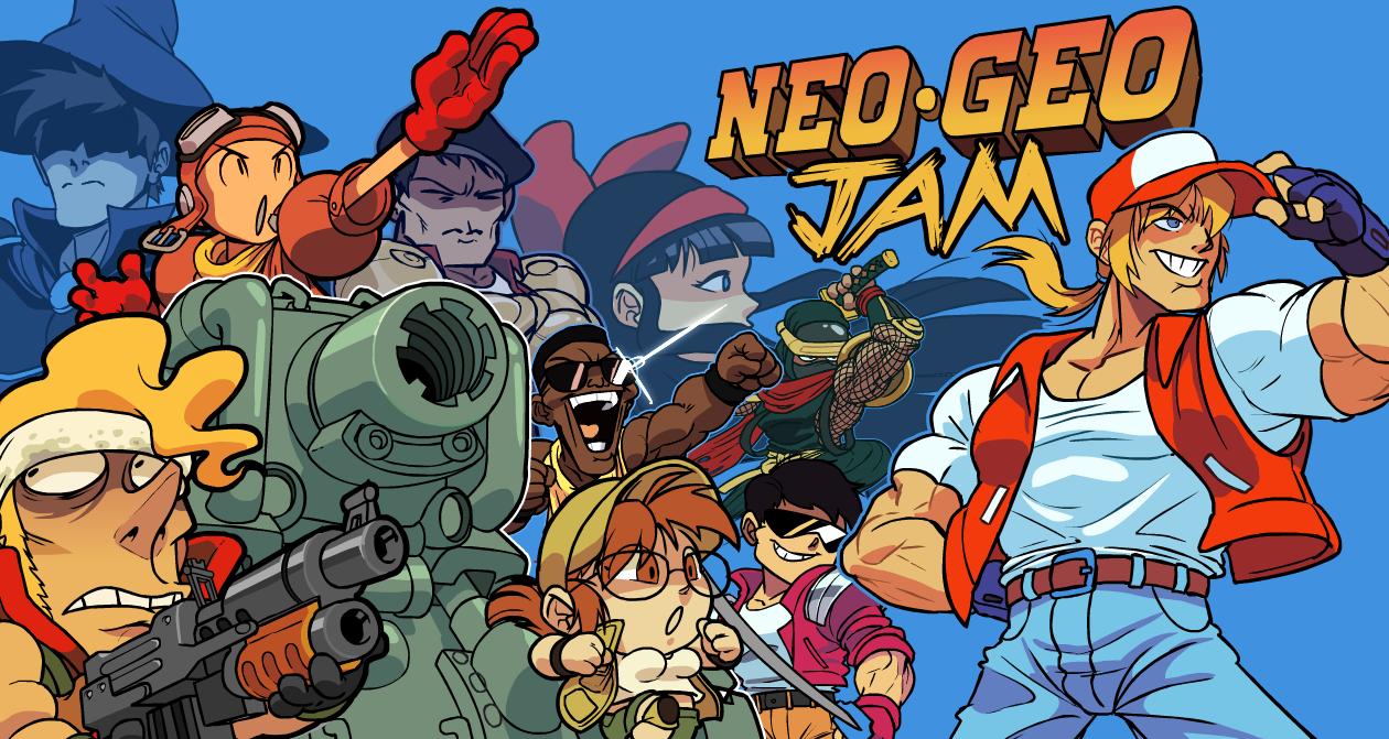 Neo Geo Banner