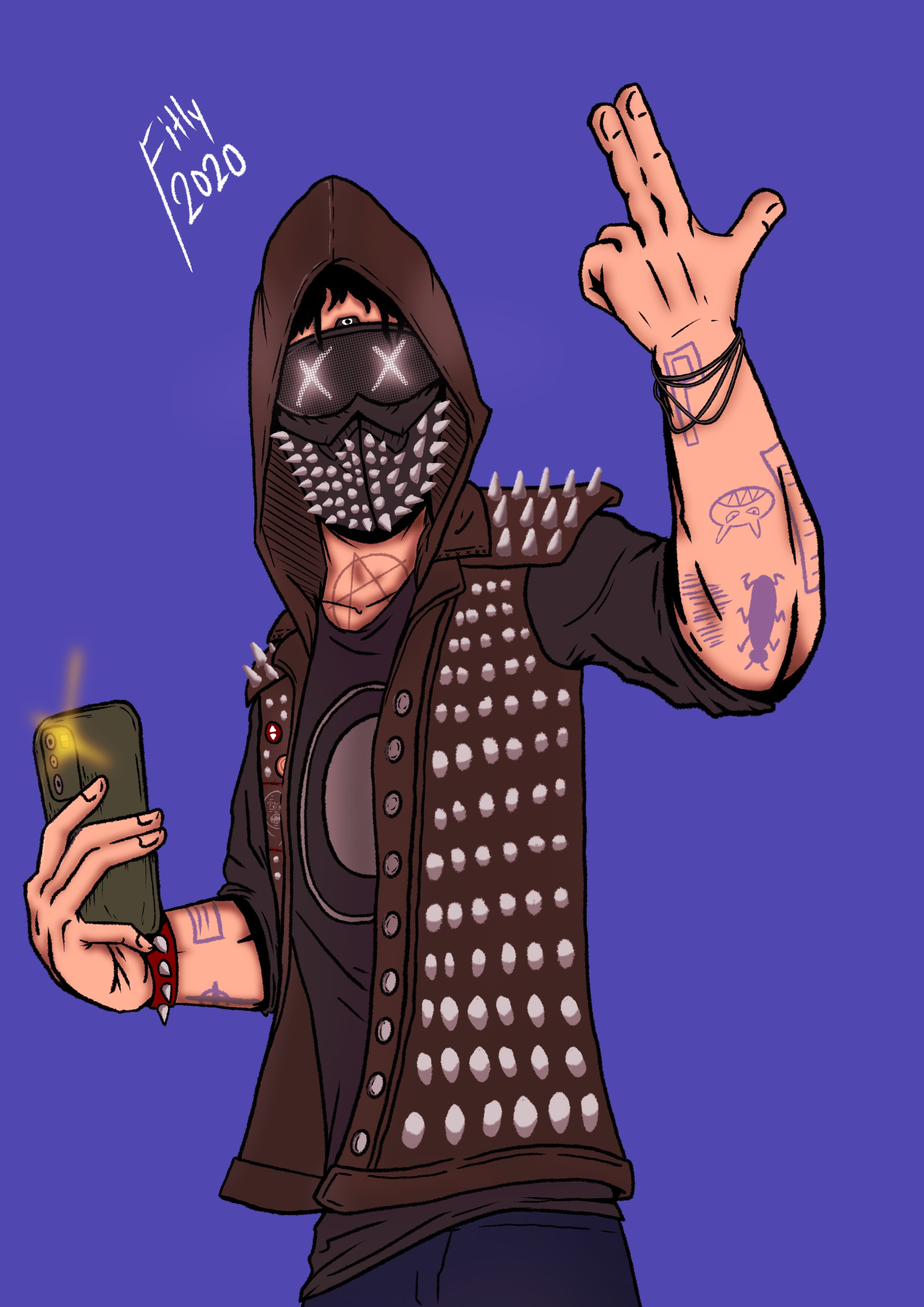 Wrench from Watch_Dogs 2