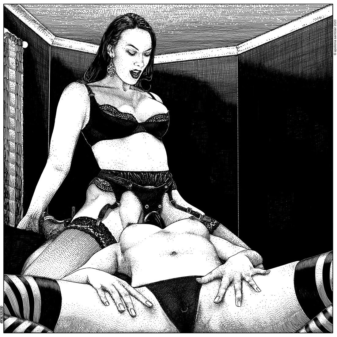 Apollonia Saintclair 976 - 20200719 Le boudoir (Close quarters)