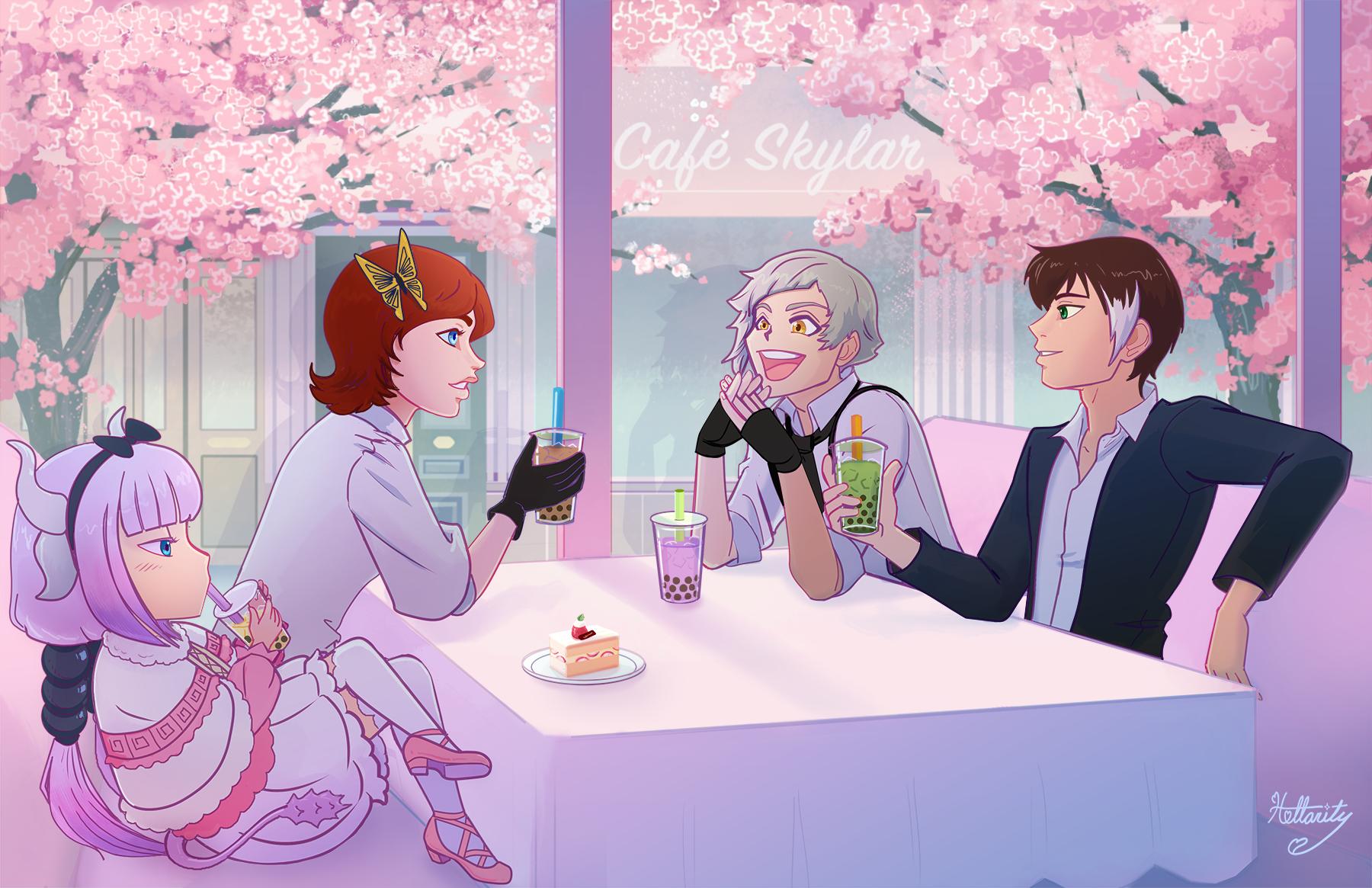 Bubble Tea Cafe