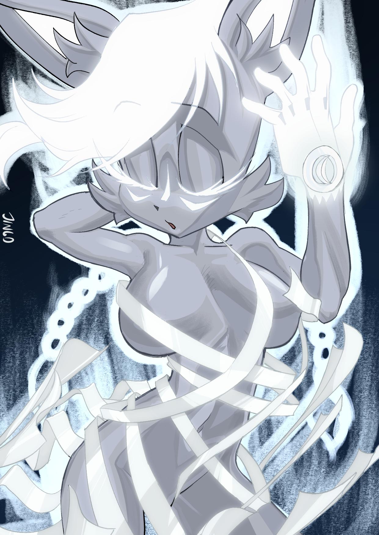 Silver Nicole (super form) SFW