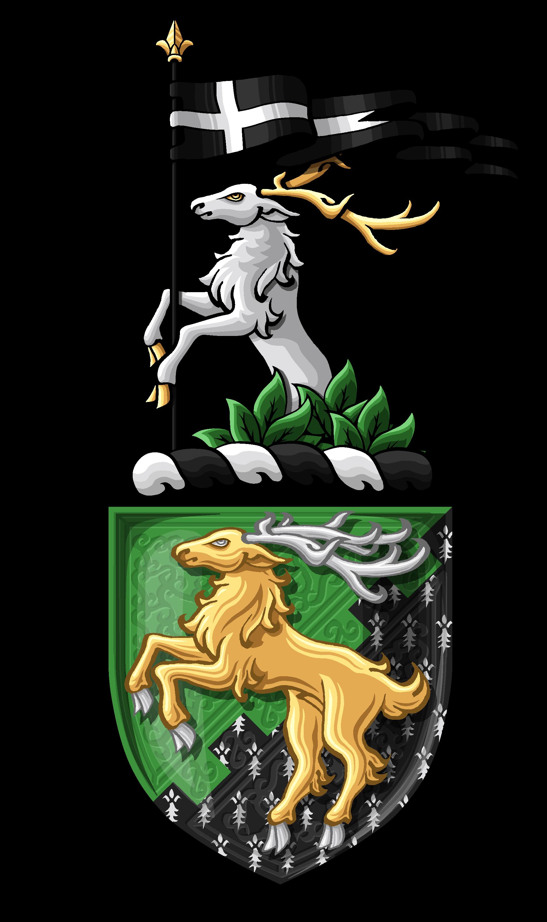 Jacques' Shield & Crest