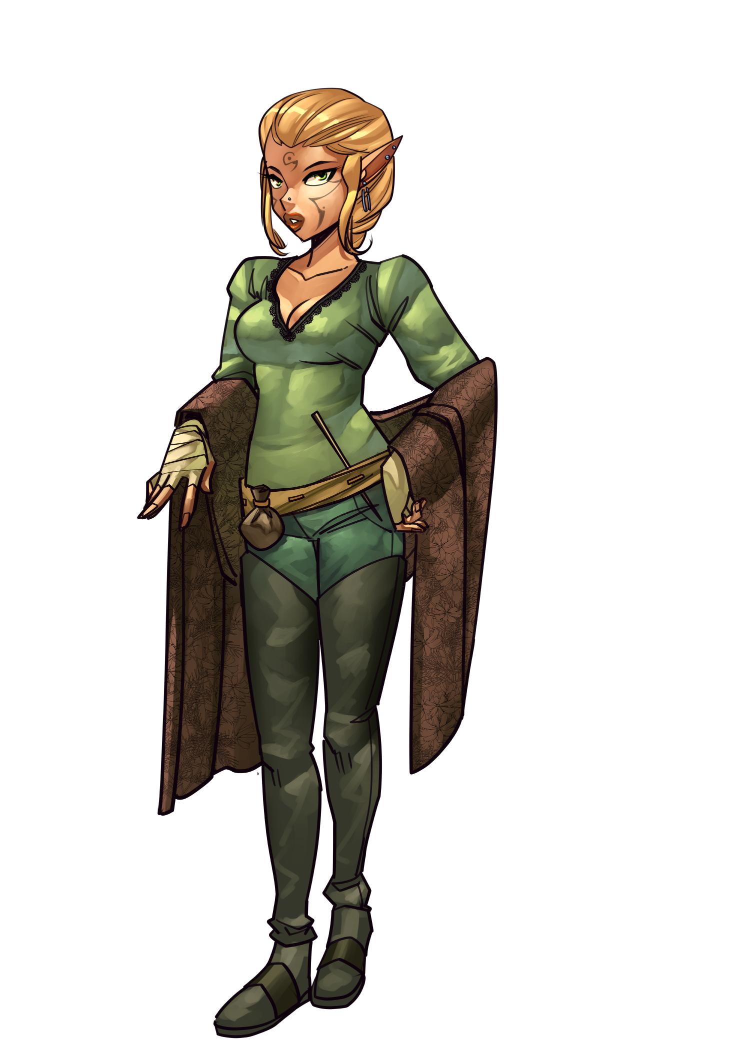 Elven Wizard Student