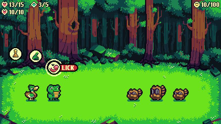 Forest Battle Scene