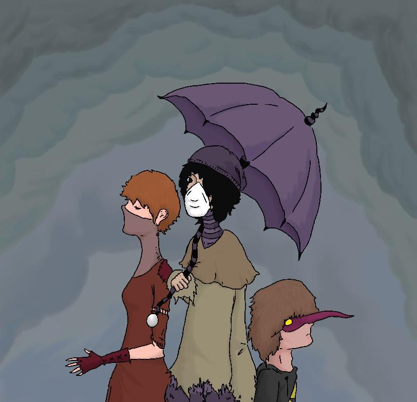 Cordelia, Yvette, and Max