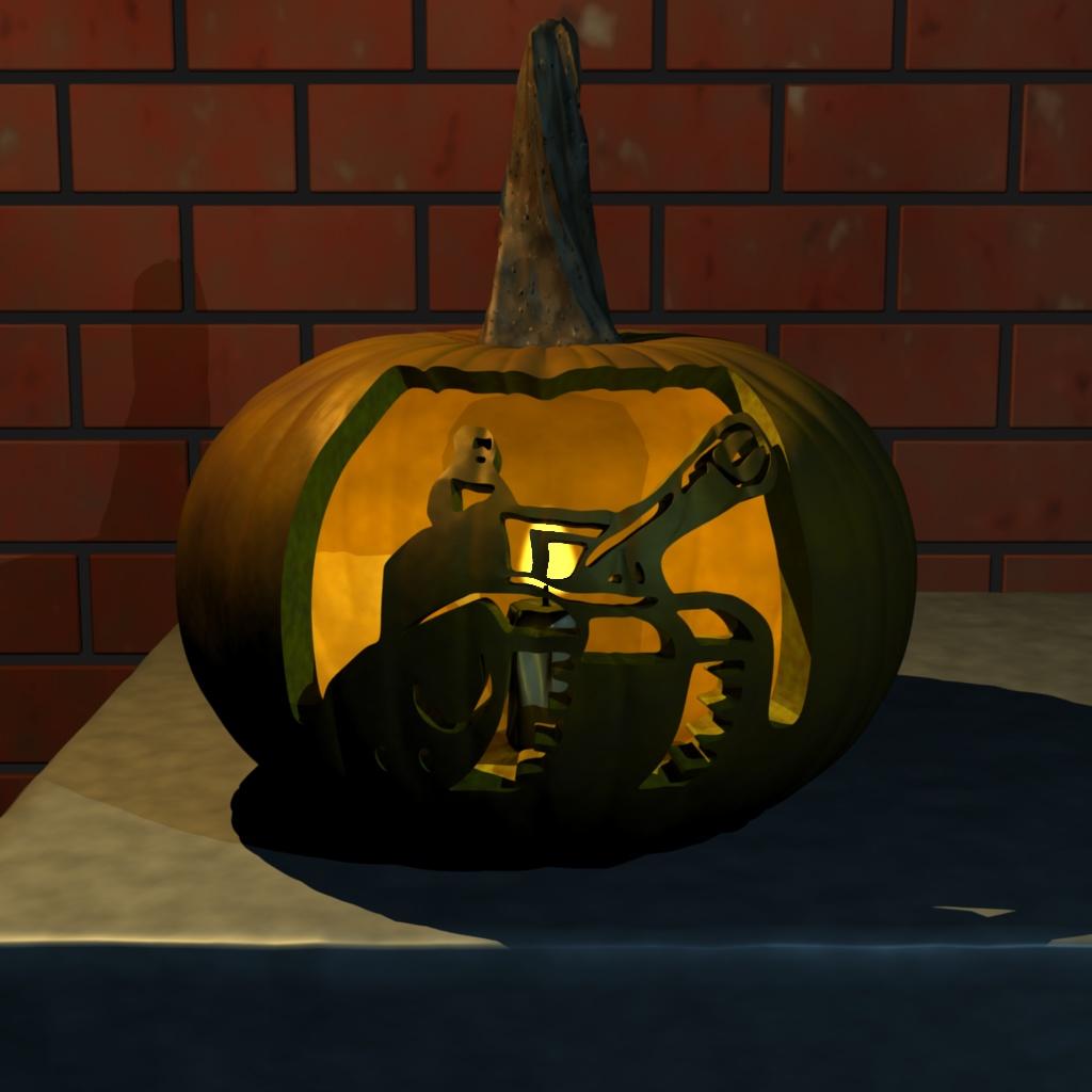Tankman-o-lantern