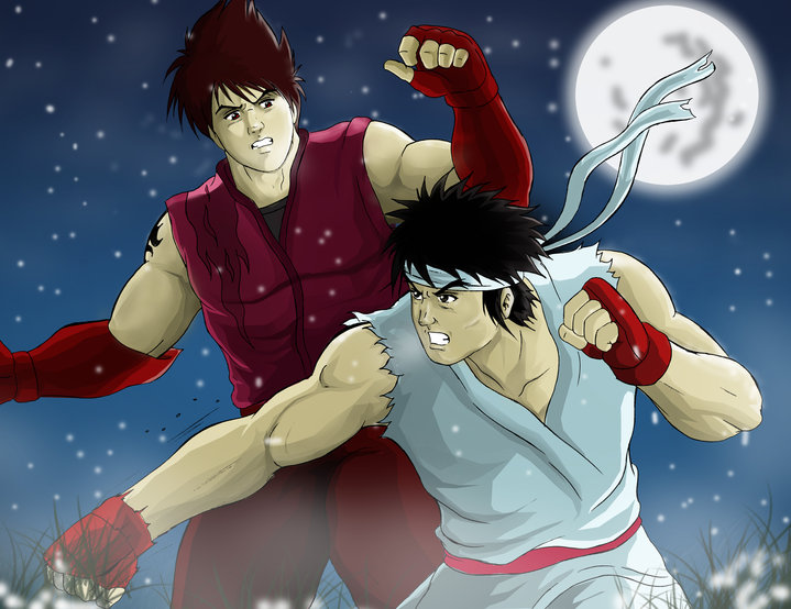 jin and ryu