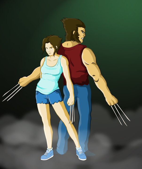 wolverine and woman wolvirene