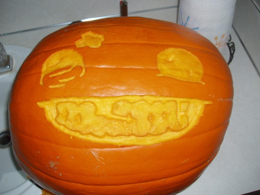 Super Pumpkin Boy!