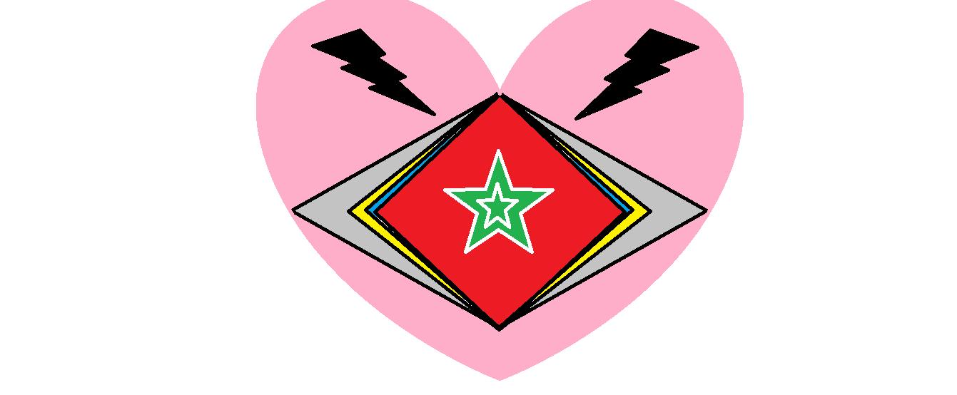 Star encased hart