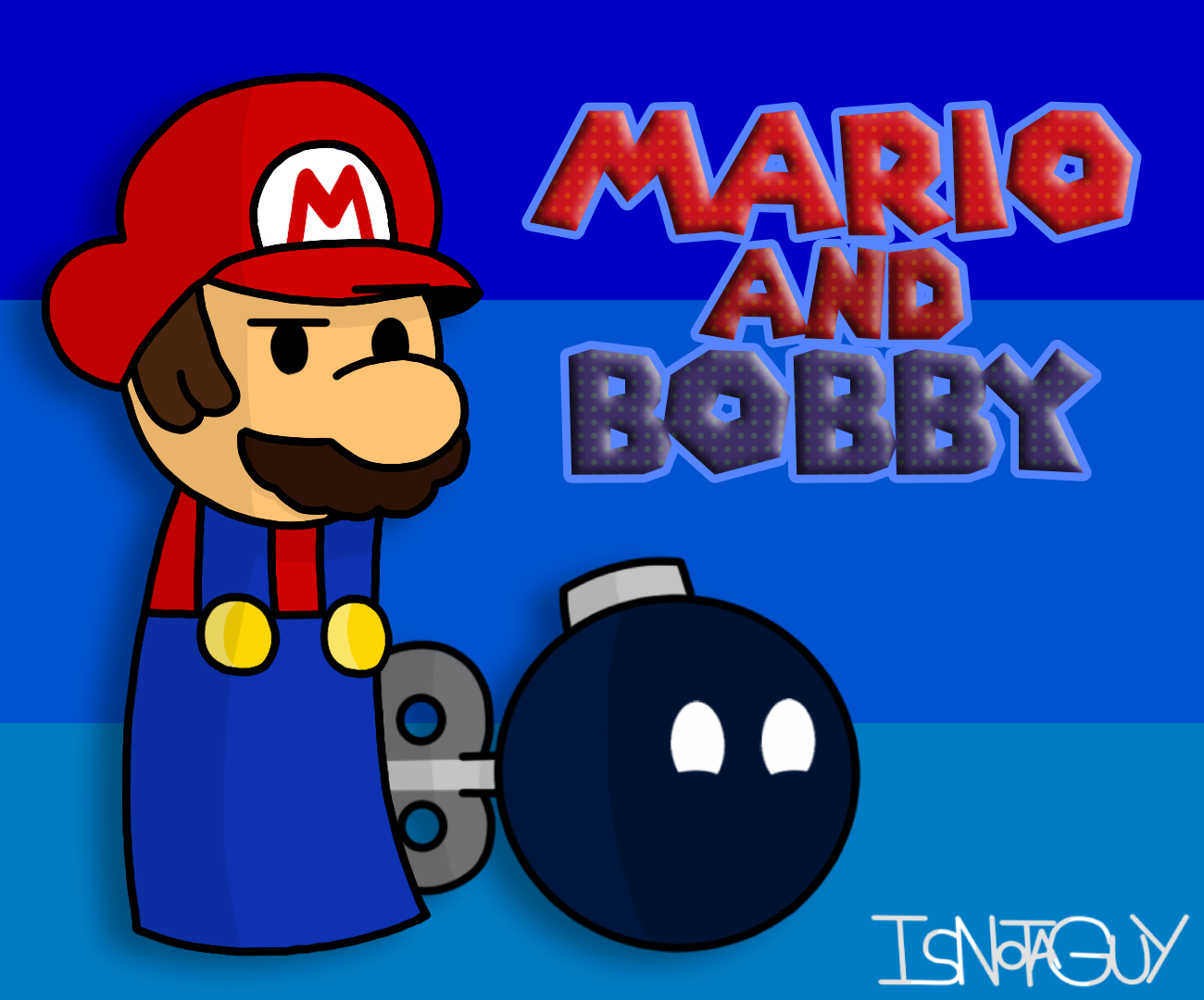 Mario and Bobby with no Legs... or Arms?