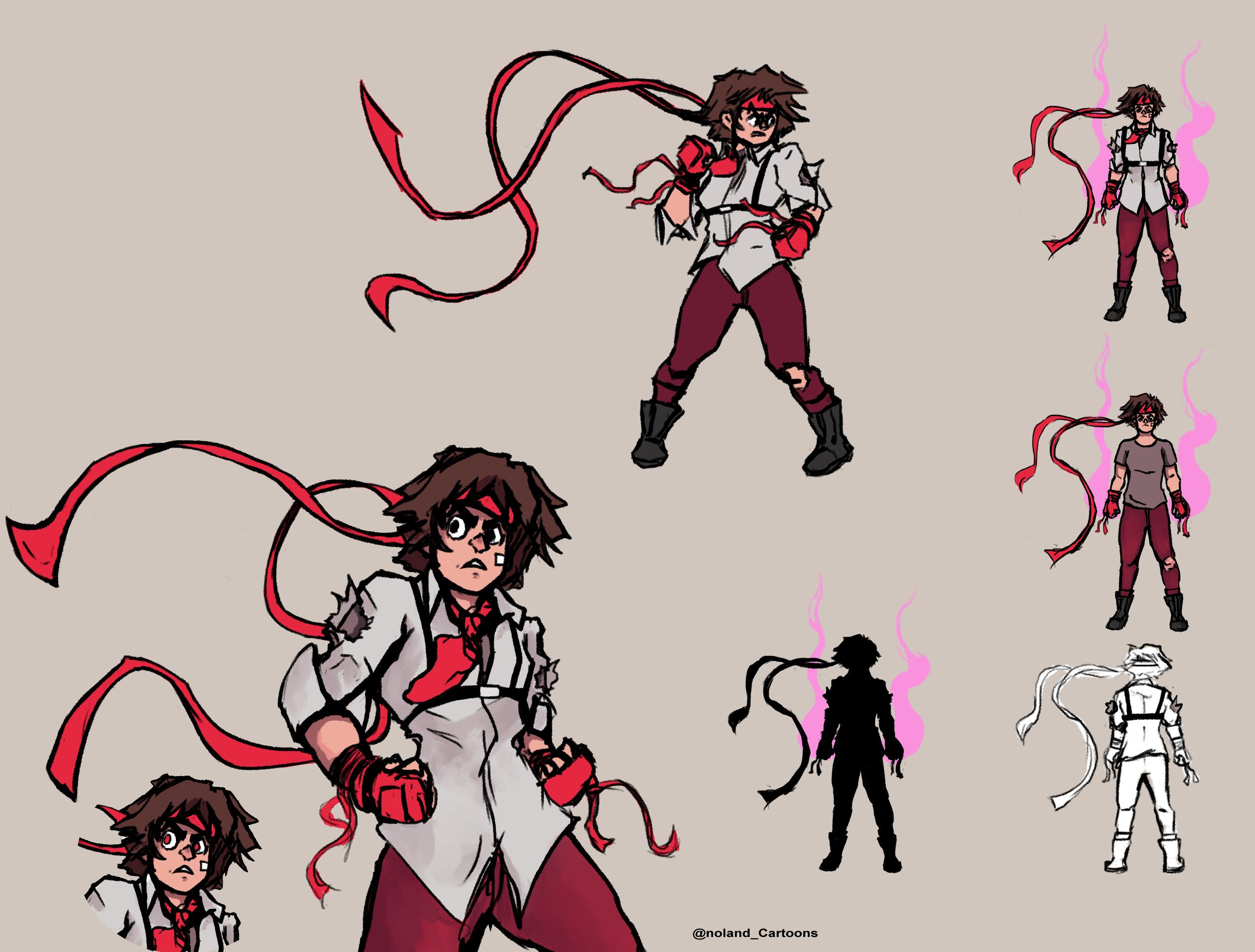 Evil Sakura- SFV costume contest entry