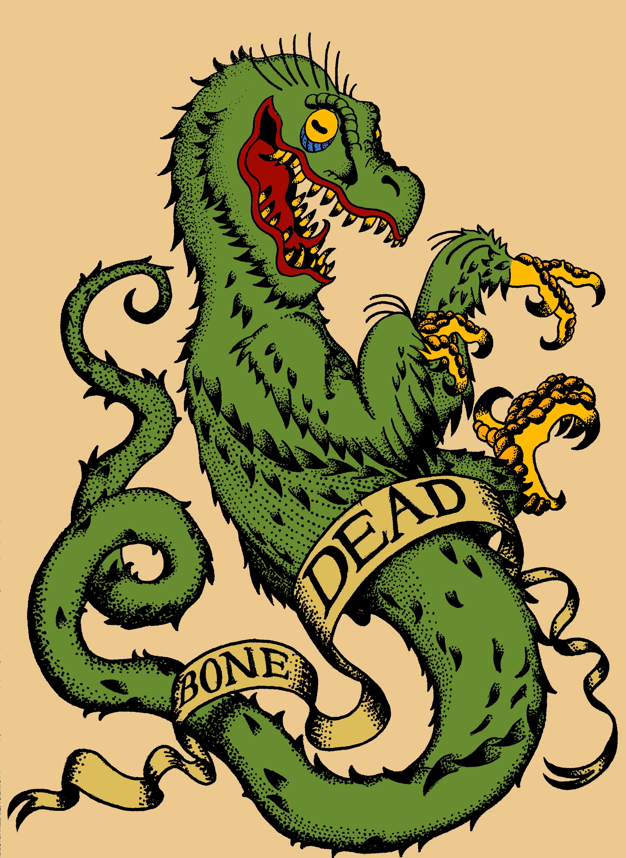Bone Dead Tattoo