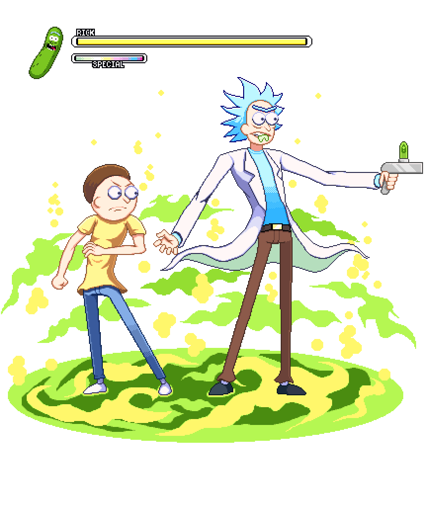 Rick and Morty Suge9