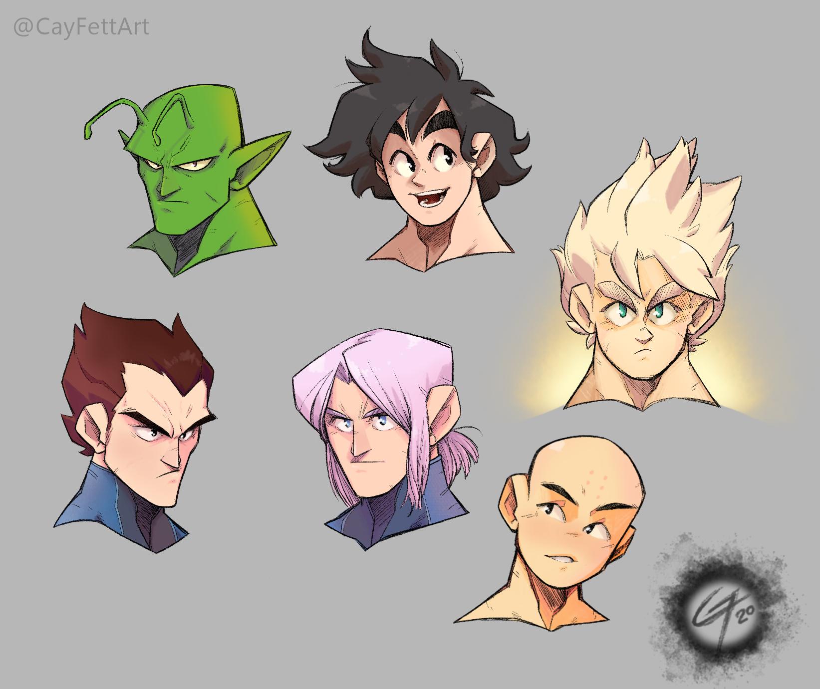 Dragon Ball Portraits