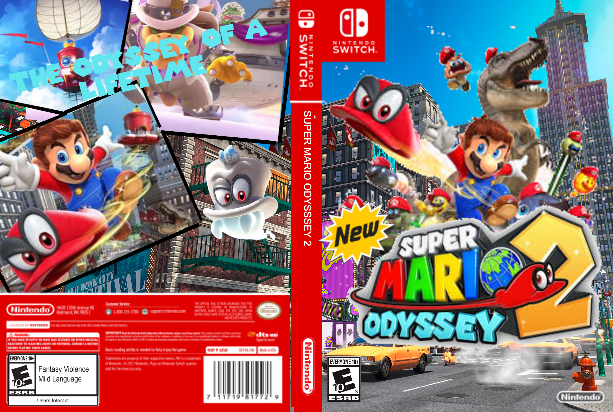 Super Mario Odyssey 2 By Ocelotman1800 On Newgrounds