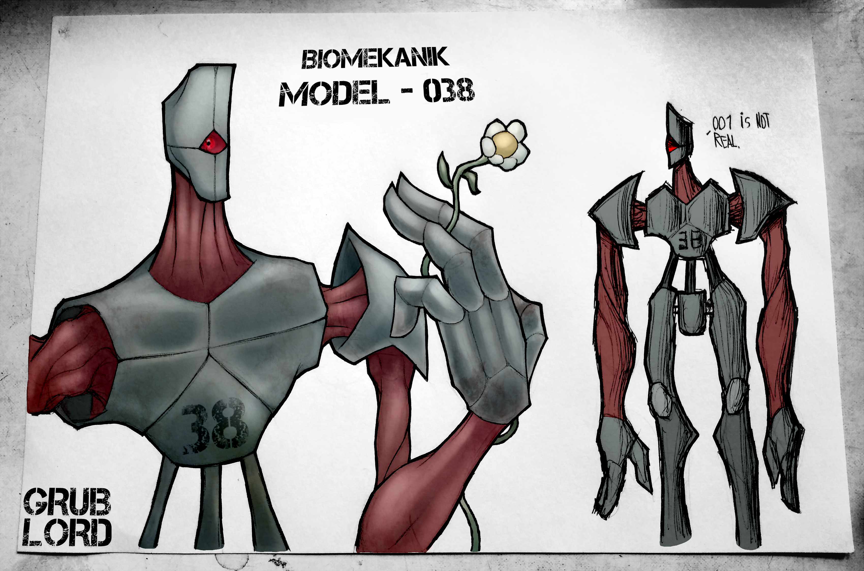 "BIOMEKANIK MODEL 038 - ""PACIFIST"" (OC)"