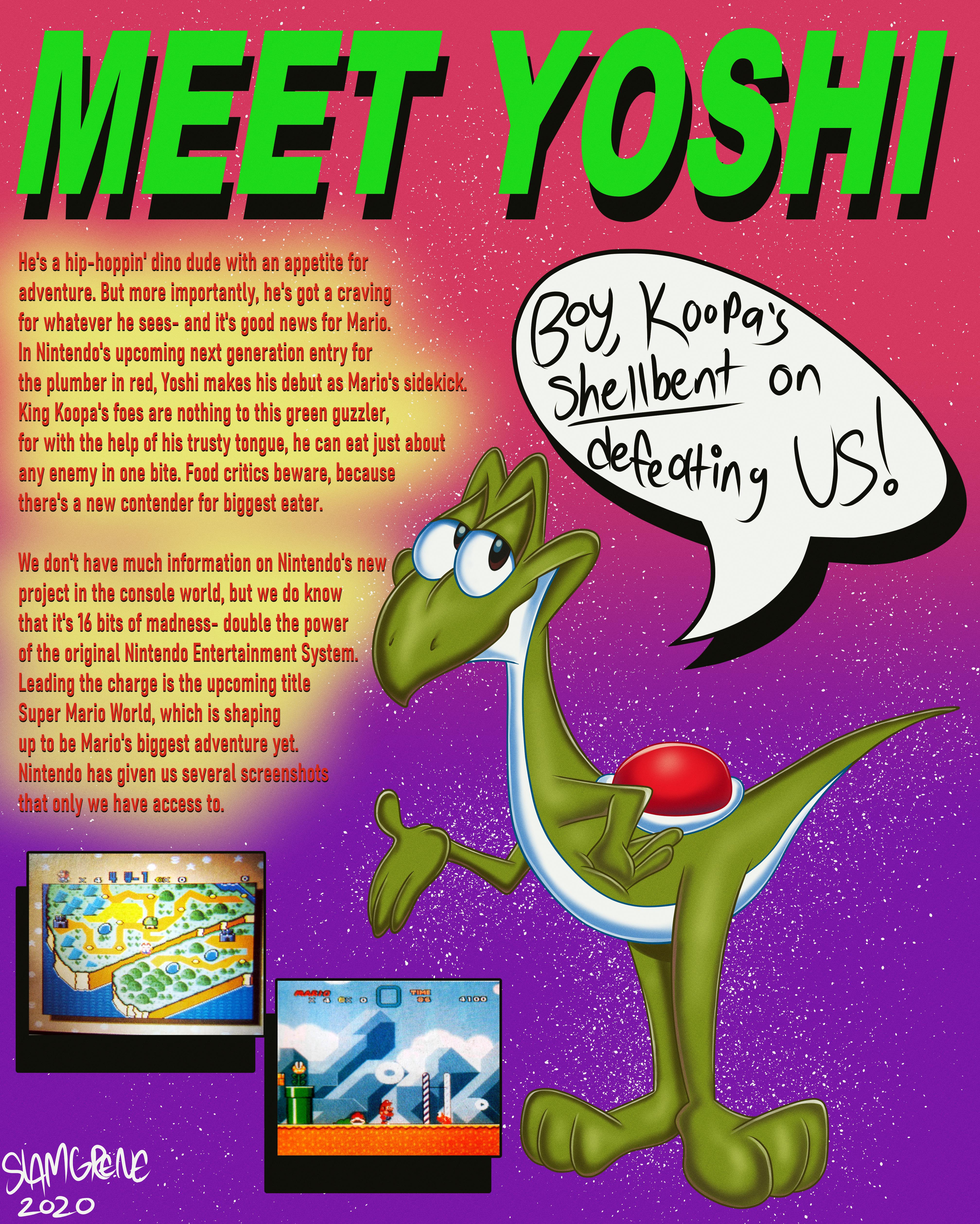 """""""Real"""" 1989 Yoshi ad"""