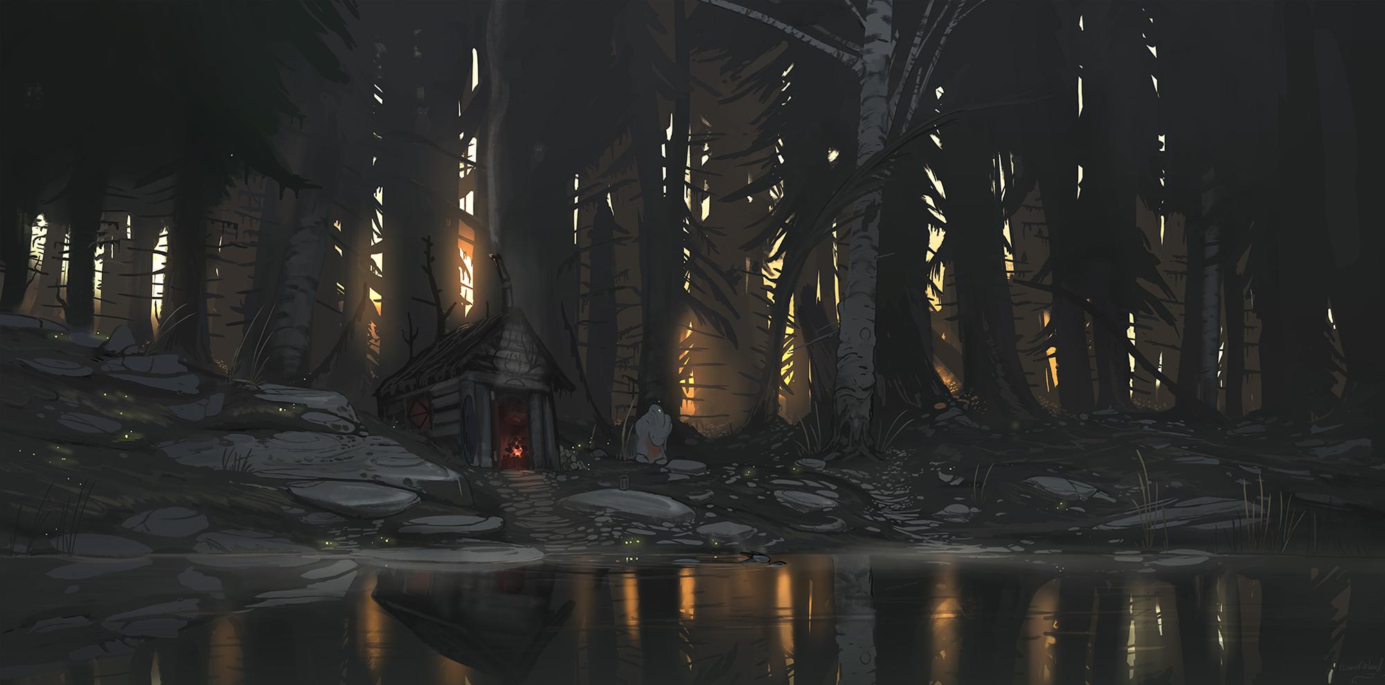 Evening sauna