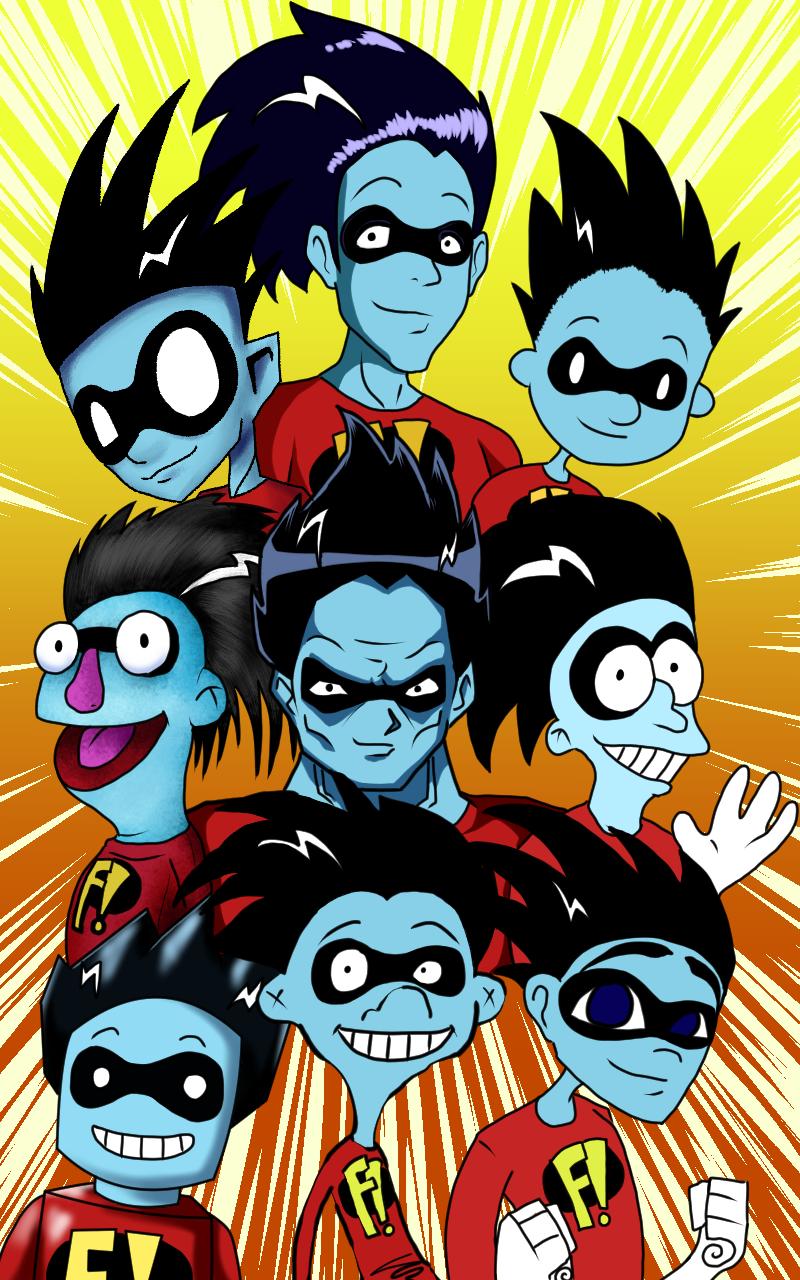 Freakazoid! In 9 styles